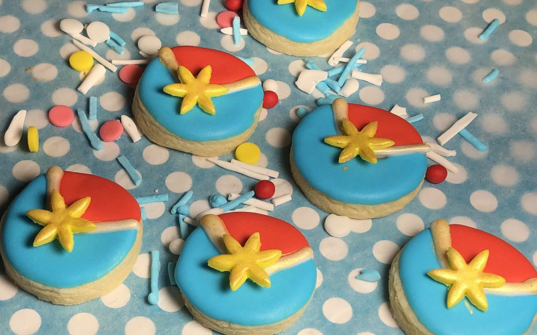 Captain Marvel – Sugar Cookies (Video Included)