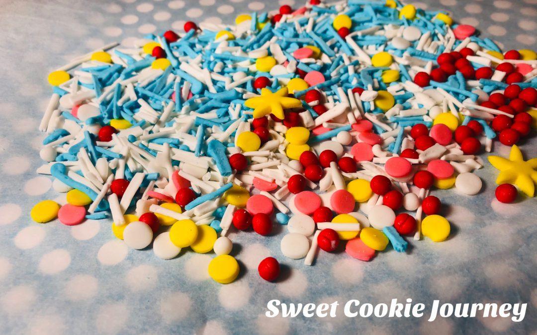 DIY Sprinkles – Captain Marvel theme